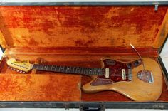Fender Jaguar Pre-CBS '64 nat/rw