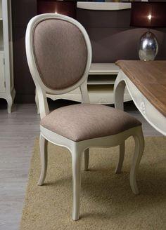 M s de 1000 ideas sobre sillas tapizadas en pinterest for Sillas blancas vintage