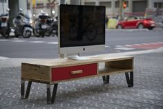 muebles de madera reciclada paletos tv