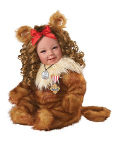 Another great find on #zulily! Cowardly Lion Doll #zulilyfinds