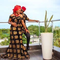 ChaCha Eke Faani Celebrates Wedding Anniversary With Adorable Family Portraits - Wedding Digest Naija African Wedding Attire, African Attire, African Dress, African Fabric, Traditional Wedding Attire, African Traditional Wedding, African Men Fashion, African Fashion Dresses, Nigerian Traditional Dresses