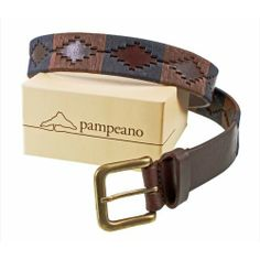 Pampeano s Luxury Hand Stitched Polo Belt - Jefe is Hand stitched and made with the finest vegetable tanned leather in Argentina Subtle tones of Navy