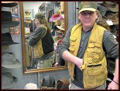 Kakadu Barramundi Conceal Carry Oilskin Vest
