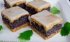 Potrebujeme na malý plech alebo tortovú formu: 250 polohrubej múky 120 g práškového cukru 1 bal. vanilkového cukru 150 g masla alebo Hery 1 ks žltok Plnka: 150 g kryštálový cukor 300 g mletého maku 1 ks vaječný bielok 2 bal vanilkového cukru 2 balíčky vanilkového pudingualebo Zlatého klasu 750 ml mlieka Poleva: 100 g práškového cukru 2 PL citrónová