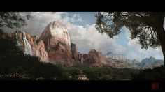 Image result for compositing and matte painting