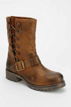 $139 Jeffrey Campbell 1950 Side-Lace Engineer Boot - Urban Outfitters
