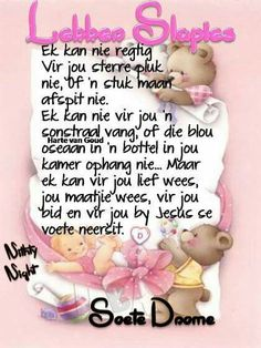 Good Night Wishes, Good Night Quotes, Quotations, Qoutes, Evening Greetings, Goeie Nag, Afrikaans Quotes, Special Quotes, Morning Messages