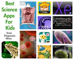 Countdown: My #3 Most Popular Post of 2015. Best Science Apps for Kids of all ages. :: PragmaticMom