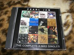 PEARL JAM The Complete X-MAS Singles CD RARE no lp vinyl ten vs yield  avocado