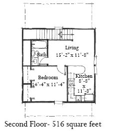Garage Plan chp-29808 at COOLhouseplans.com Can you extend the porch/deck to become a carport/deck