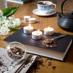 Earl Grey Tea inspired the essential oil blend for these tea lights Scented Tea Lights, Scented Candles, Vegan Candles, Mollie Makes, Earl Grey Tea, Essential Oil Blends, Wax, Awards, Inspired