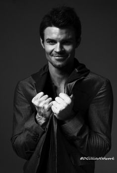 The Originals and The Vampire Diaries ... Daniel Gillies as Elijah Mikaelson…