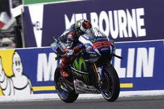 """MotoGP - Jorge Lorenzo: """"Não tive aderência na traseira da moto"""""""