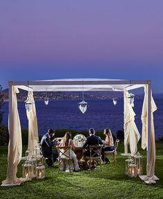 Island Art & Taste is a breathtaking setting for your wedding reception.