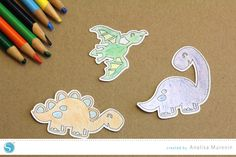 Tutorial |Create Your Own Coloring Stickers | by Analisa Murenin for Silhouette