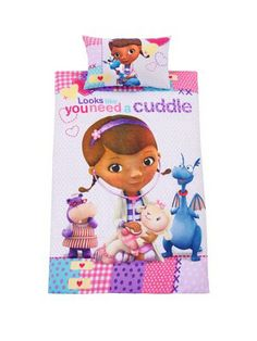 Doc McStuffins Kids Single Duvet Cover Set Littlewoodsireland