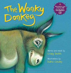 """Craig's picture book, """"The Wonky Donkey"""", has been hugely successful throughout New Zealand and Australia, and is fast becoming loved by kids everywhere.    Courtesy: Craig Smith, Queenstown (New Zealand)."""