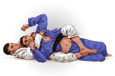 Backchoke by phizpietl on DeviantArt Fighting Poses, Art Of Fighting, Muay Thai, Material Arts, Karate, Jiu Jitsu Moves, Krav Maga Martial Arts, Jiu Jitsu Fighter, Mma Boxing