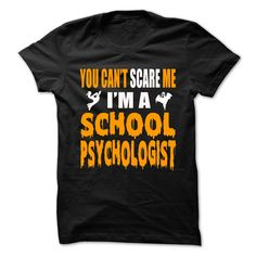 (Greatest T-Shirts) Halloween Tshirt For School Psychologist - Gross sales...