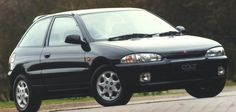 Mitsubishi Colt 1994. – 2004. A better car than the civic I had shortly after. Fab handling and steering.