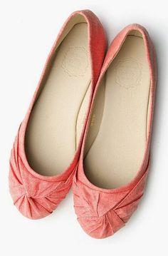 Ballet Shoe Comfort Flat