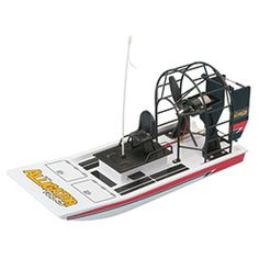 AquaCraft Mini Alligator Tours 18.25-Inch 2.4GHz RTR Electric RC Airboat