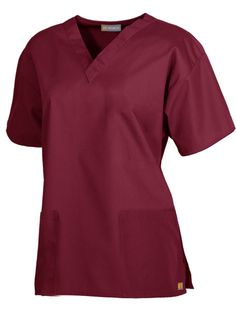 Two-Pocket V-Neck Top #uniforms and #scrubs