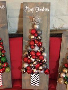 Cricut Christmas Ideas, Merry Christmas, Ornament Wreath, Ornaments, Wreaths, Home Decor, Merry Little Christmas, Decoration Home, Door Wreaths