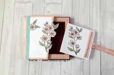 Stampin Up France, Mini Albums, Scrap, In This Moment, Tutorial, Pop Up, Baby Easter Basket, Ink Stamps, Cardboard Paper