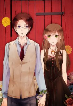 Hetalia: Axis Powers World series beautiful world / APH | Austria x Hungary / Roderich & Elizabeta | OTP like x500