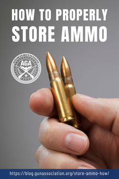 Every responsible gun owner should know how to store their ammunition properly. Leaving your casings or (worse) fully loaded ammunition just lying around is a bad idea, through and through. Here's what you should do to store ammo safely and correctly. #ammo #ammunition #ammostorage #gunsandammo #gunassociation Ammo Storage, Cooling Unit, Emergency Preparation, Stippling, Guns And Ammo, Pin Image, Firearms, Weapons, Survival