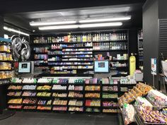 can find Retail and more on our website. Coffee Shop Bar, Coffee Shop Design, Mall Design, Retail Store Design, Small Store Design, Tobacco Shop, Shop Shelving, Supermarket Design, Pharmacy Design