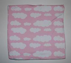 Light pink cloud beanie