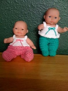 "Sweetie Pie 3pc sweater set for 5"" Lots to love doll - Free Original Patterns - Crochetville"