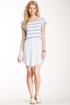 Chambray Stripe Dress