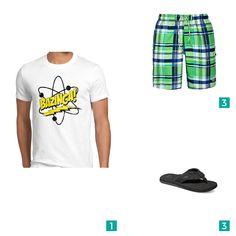 """Männer Outfit """"Strandurlaub """". Auf mensway.de findest Du viele verschiedene Outfits für Männer."""