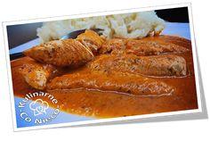"""Kulinarne ,,Co Nieco"""" - blog kulinarny: Polędwiczki Drobiowe w Sosie Paprykowym"""