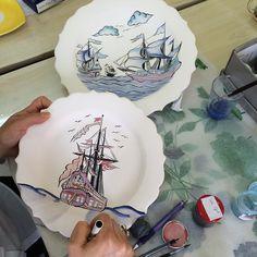 """51 Beğenme, 13 Yorum - Instagram'da @guldilerege: """"Son gemiler boyandı,şimdi fırınlanabilirler"""""""