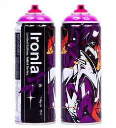 POSE 'Sushi' -Limited Edition Ironlak cans