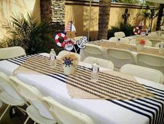 Sailor nautical Baby Shower Party Ideas Photo 1 of 9 Catch My Sailor Baby Showers, Anchor Baby Showers, Sailor Theme Baby Shower, Shower Party, Baby Shower Parties, Baby Shower Themes, Shower Ideas, Bridal Shower, Party Party