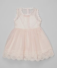 This Trish Scully Child Pink Sophia Dress - Toddler & Girls by Trish Scully Child is perfect! #zulilyfinds