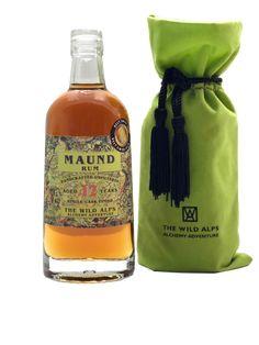 MAUND® RUM 12 YEARS+   in Velvet Sachet  500 ML, 45% vol Rum, Alps, Velvet, Food, Caribbean, Essen, Meals, Rome, Yemek