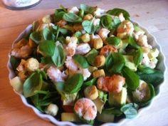 Opskrift: Jomfruhummer salat