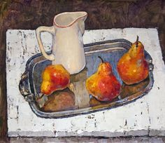 Victoria Kalaichi(Russian, b.1986) - Pears