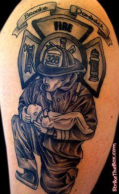 Firemen Tattoo