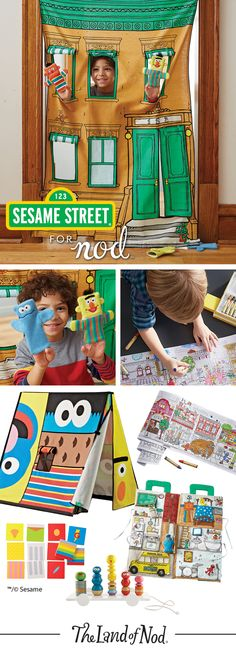 Invite some new pals over for playtime with our exclusive Sesame Street toys. Inspired by all your favorite characters, this imaginative collection is filled with unique gifts, games and toys you won't find anywhere else.