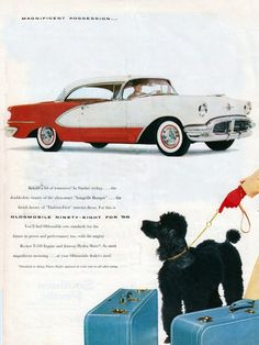 Oldsmobile advertisement, 1956