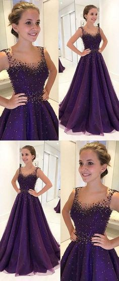 Charming Purple Prom Dress,Tulle Long Prom Dress, Custom Made Evening Dress Prom Dress Purple Prom Dress Custom Prom Dress Prom Dress Long Prom Dresses Long Prom Girl Dresses, Prom Dresses For Teens, Prom Dresses 2018, Tulle Prom Dress, School Dresses, Dress Wedding, Long Dresses, Wedding Shoes, Prom Ballgown Dresses