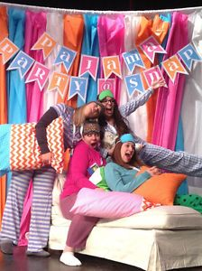 Beach fun summer spring pool over sized glasses colorful the best diy photo booth ideas for your party solutioingenieria Images