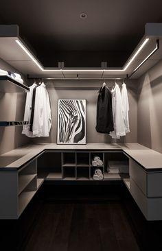 Walk In Closet Design, Bedroom Closet Design, Master Bedroom Closet, Wardrobe Design, Closet Designs, Room Decor Bedroom, Interior Design Living Room, Walk In Wardrobe, Bedroom Wardrobe